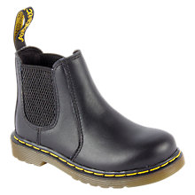 Buy Dr Martens Children's Banzai Chelsea Boots, Black Online at johnlewis.com