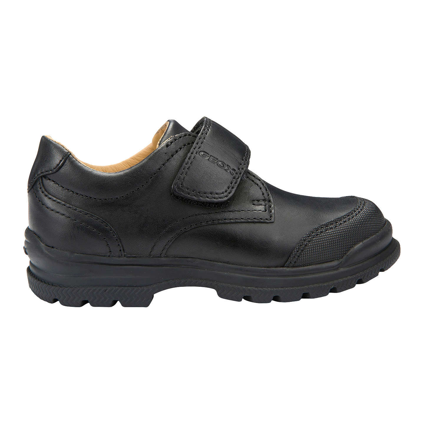 Geox William School Shoes Black