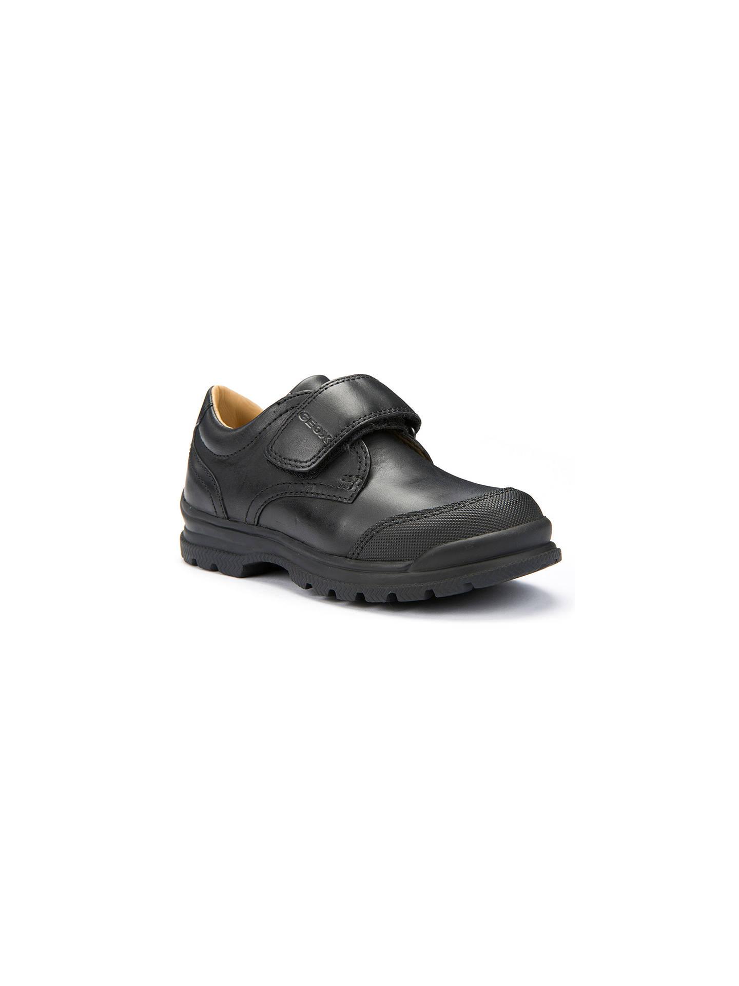 bofetada esperanza Gruñido  Geox Children's William School Shoes, Black at John Lewis & Partners