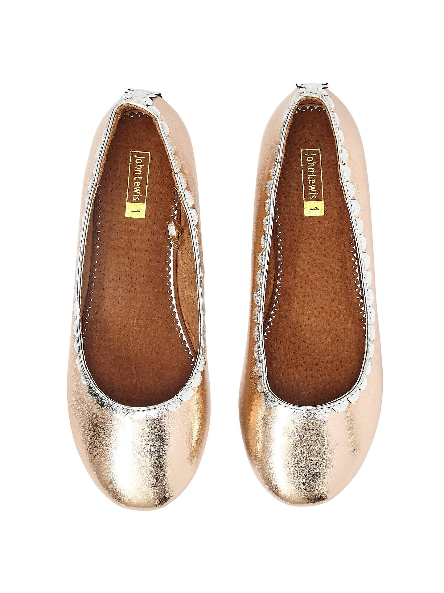 209c79e345c6 ... Buy John Lewis Children s Darcy Scallop Shoes