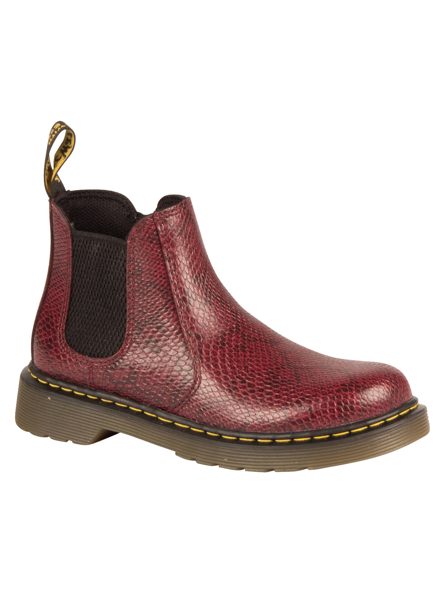 b66f225432783 Buy Dr Martens Children's Banzai Chelsea Boots, Wine, 10 Jnr Online at  johnlewis.