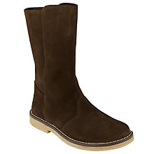 Buy John Lewis Children's Steffie Mid Boots, Chocolate Online at johnlewis.com