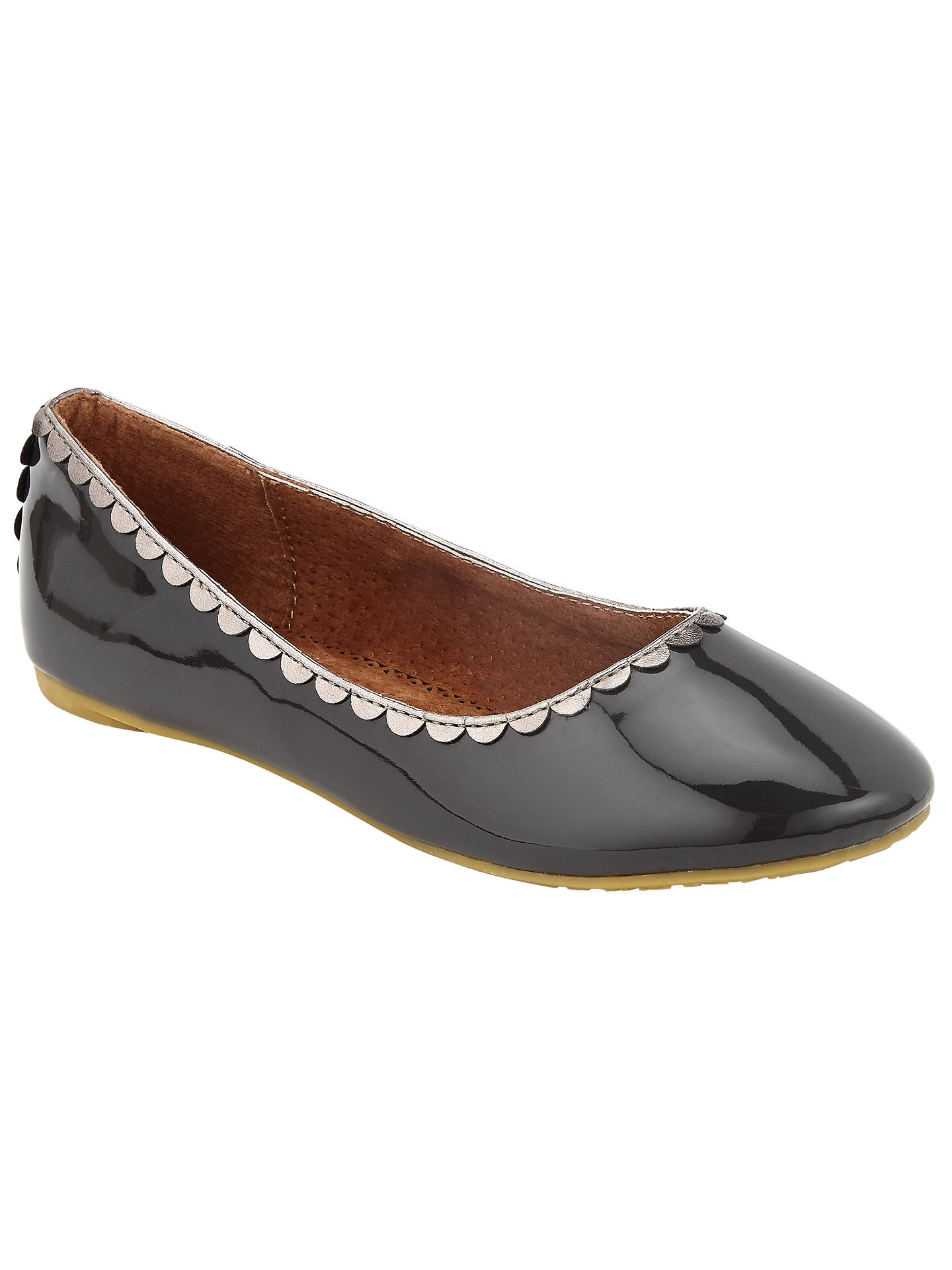 5b895ebe8a31 Buy John Lewis Children s Darcy Scallop Shoes