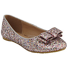 Buy John Lewis Children's Ella Sparkle Shoes, Multi/Glitter Online at johnlewis.com