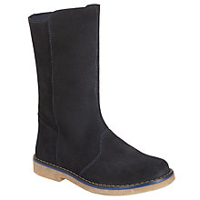Buy John Lewis Children's Steffie Mid Boots, Blue Online at johnlewis.com