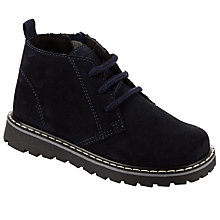 Buy John Lewis Children's Desert Boots, Navy Online at johnlewis.com