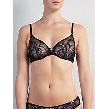 Buy Somerset by Alice Temperley Gigi Lace Underwired Bra, Black Online at johnlewis.com
