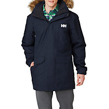 Buy Helly Hansen Dubliner Waterproof Insulated Men's Parka Jacket, Navy Online at johnlewis.com