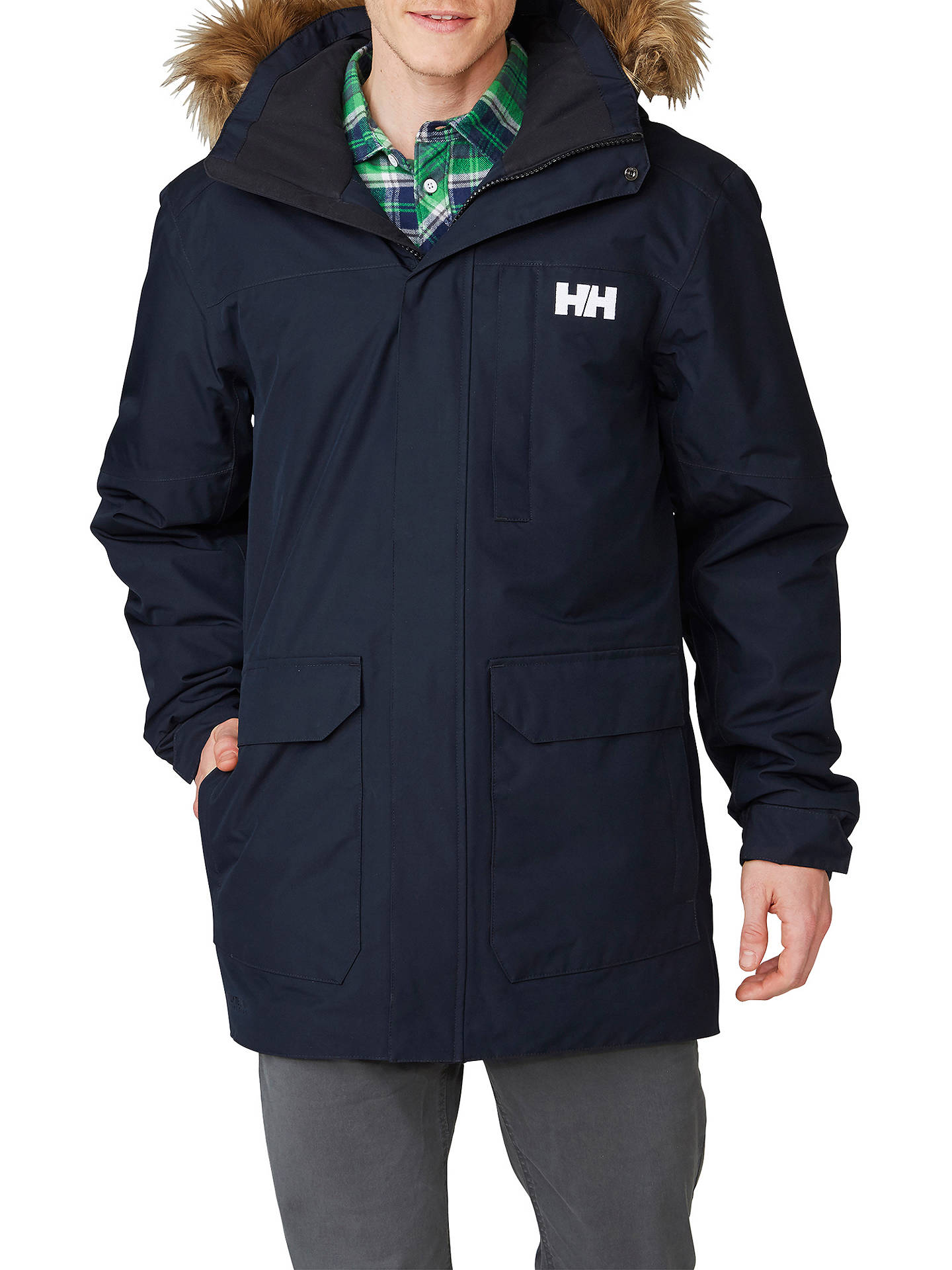 266ae93c81ab Buy Helly Hansen Dubliner Waterproof Insulated Men s Parka Jacket