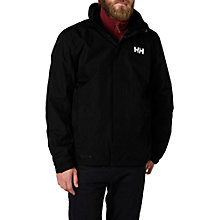 Buy Helly Hansen Waterproof Dubliner Jacket, Black Online at johnlewis.com