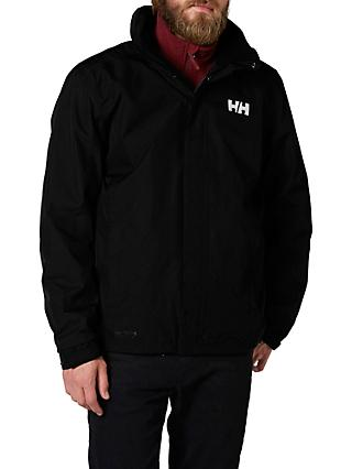 Helly Hansen Dubliner Men's Waterproof Jacket, Black
