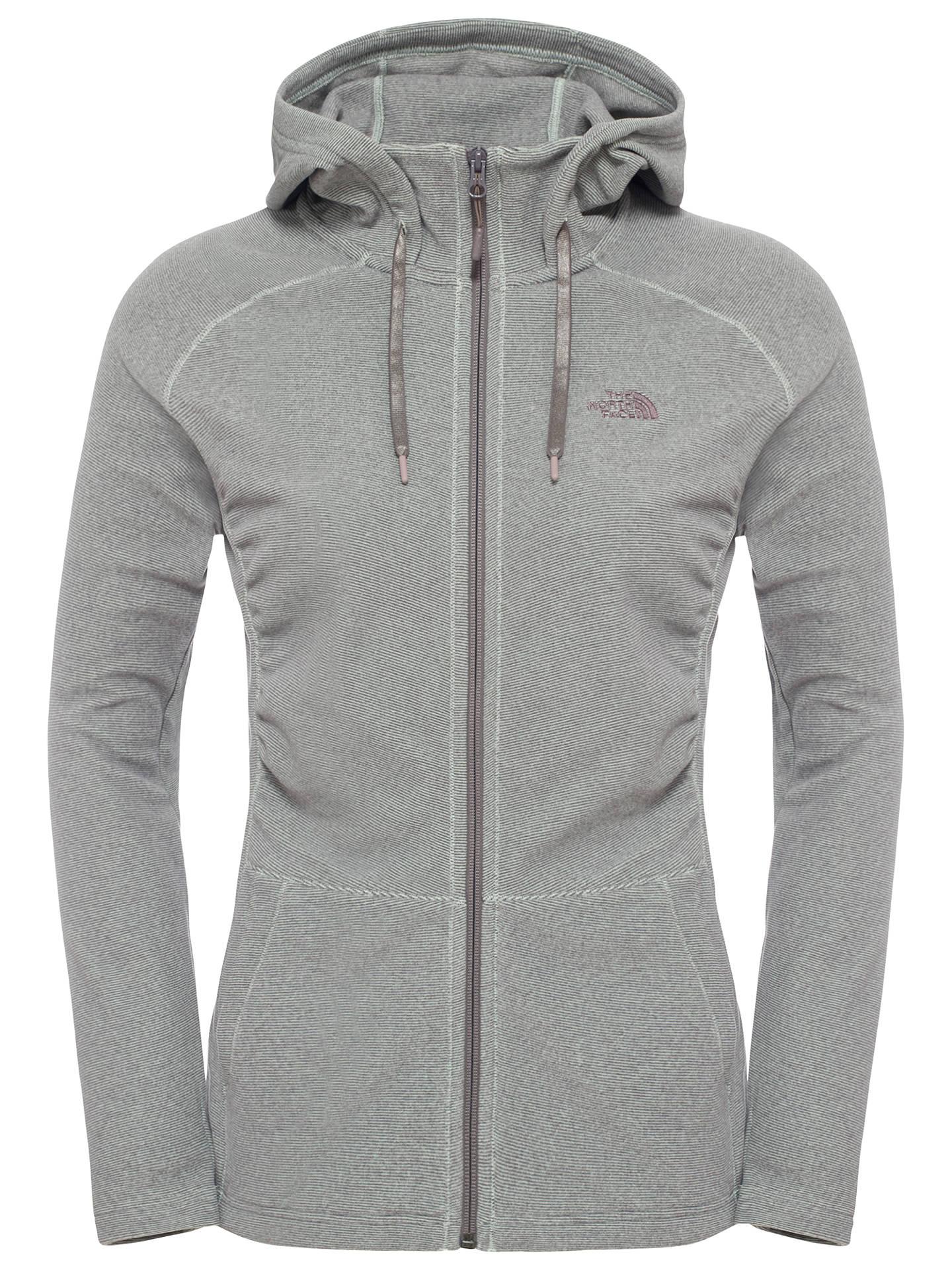 40859d5097 Buy The North Face Mezzaluna Women's Fleece, Green, S Online at johnlewis.  ...