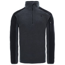 Buy The North Face Glacier Delta Half Zip Men's Fleece, Grey Heather Online at johnlewis.com