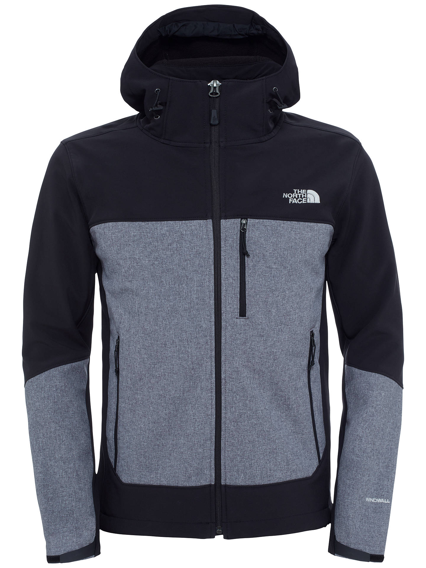 50228a269 The North Face Apex Bionic Full Zip Windproof Hoodie Jacket, Black ...