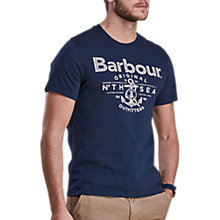 Buy Barbour Sea Graphic T-Shirt Online at johnlewis.com