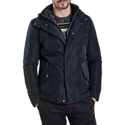Product photo of Barbour tulloch waterproof jacket navy