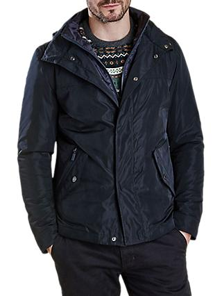 Barbour Tulloch Waterproof Jacket, Navy