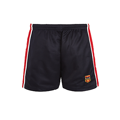 Highclare School Junior Unisex PE Shorts, Navy