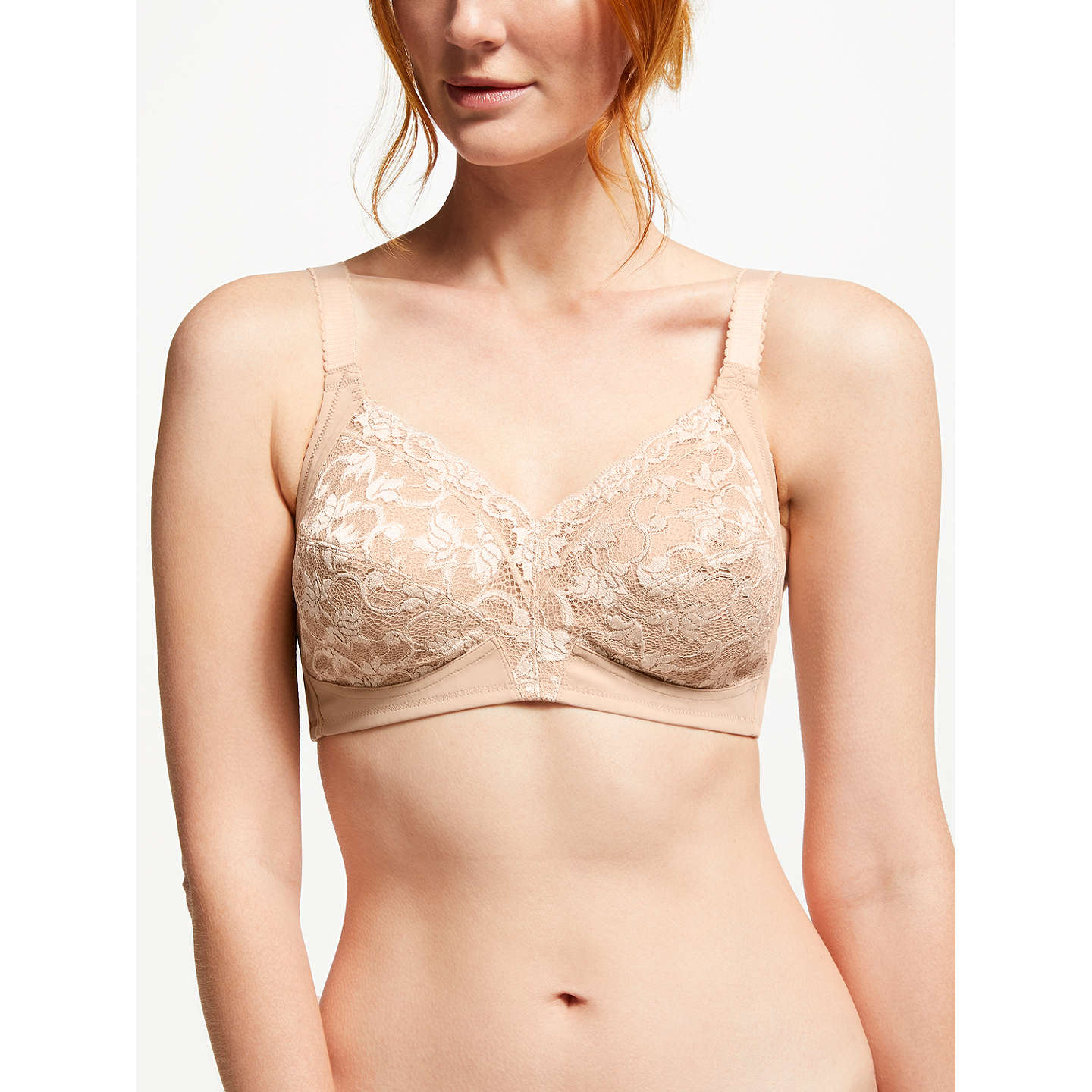 BuyTriumph Delicate Doreen Full Cup Bra, Smooth Skin, 34B Online at johnlewis.com