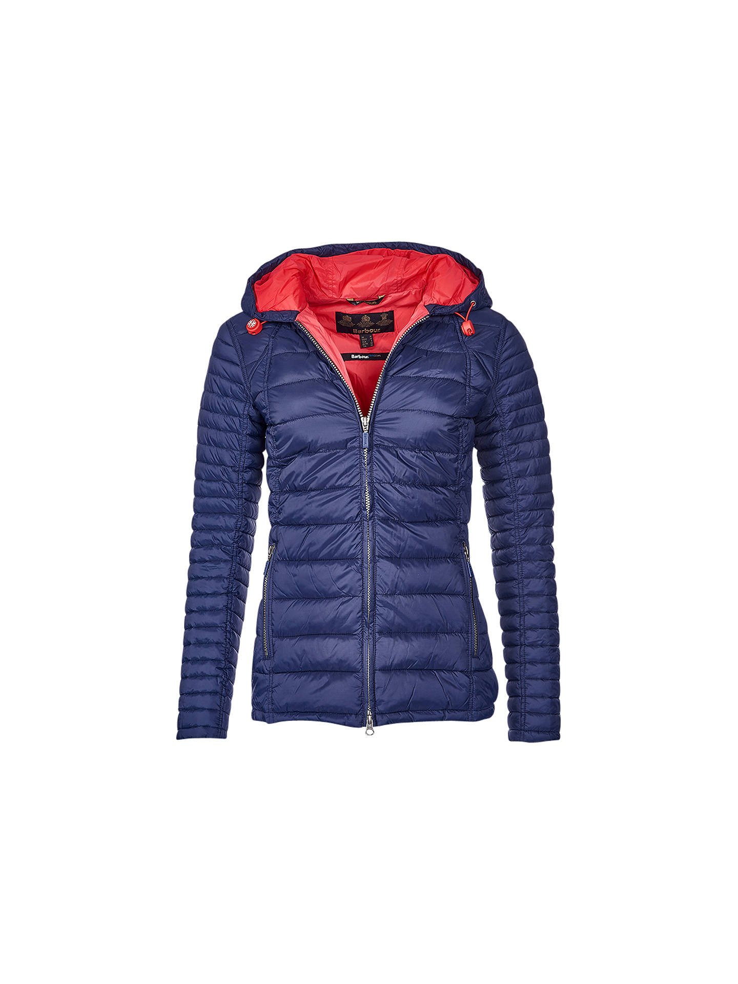 d63b50364ca9e Barbour Landry Baffle Quilted Jacket | Navy at John Lewis & Partners