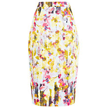 Buy Damsel in a dress Shadow Floral Skirt, Multi Online at johnlewis.com