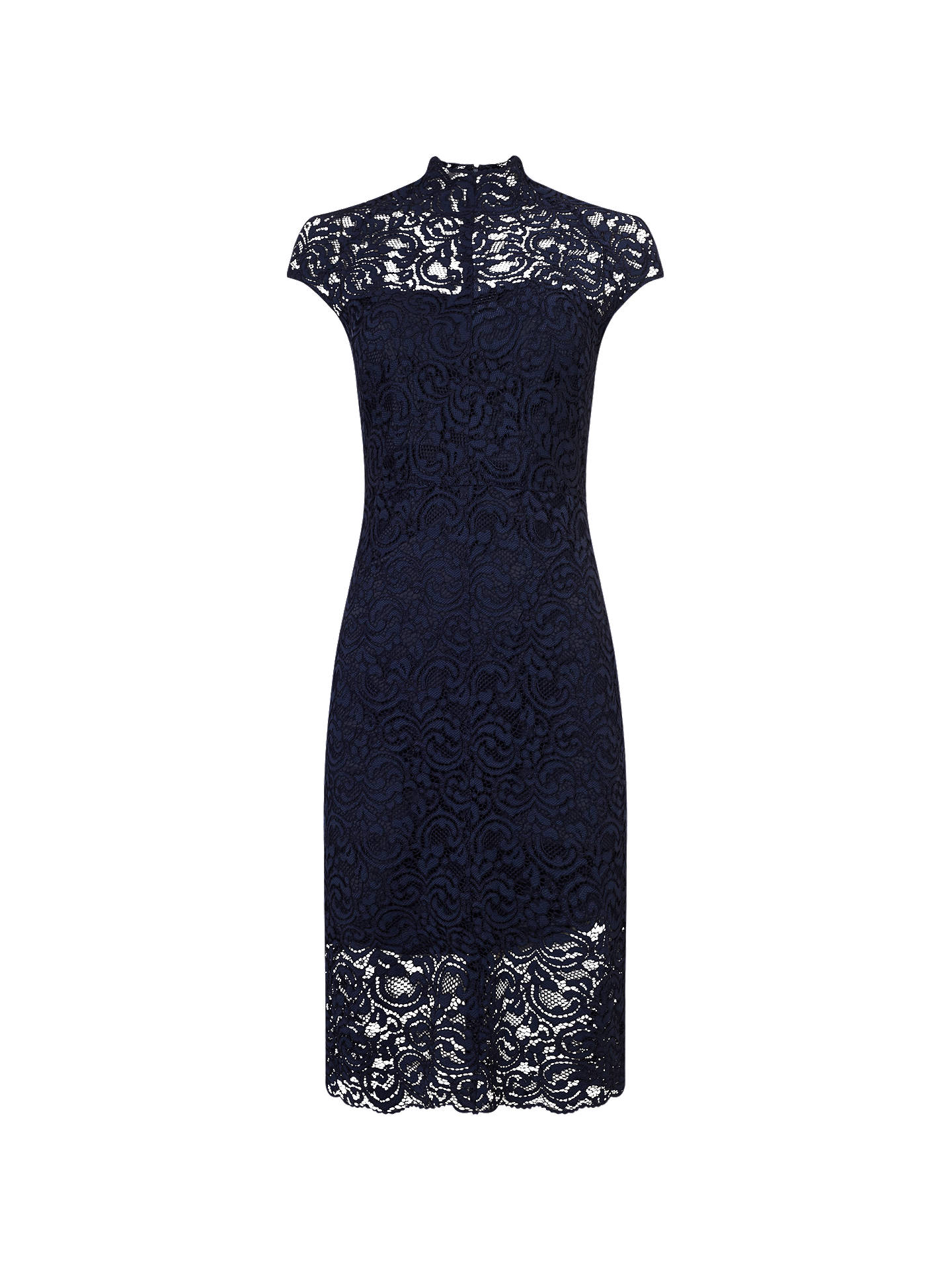 BuyPhase Eight True Lace Dress, Navy, 6 Online at johnlewis.com