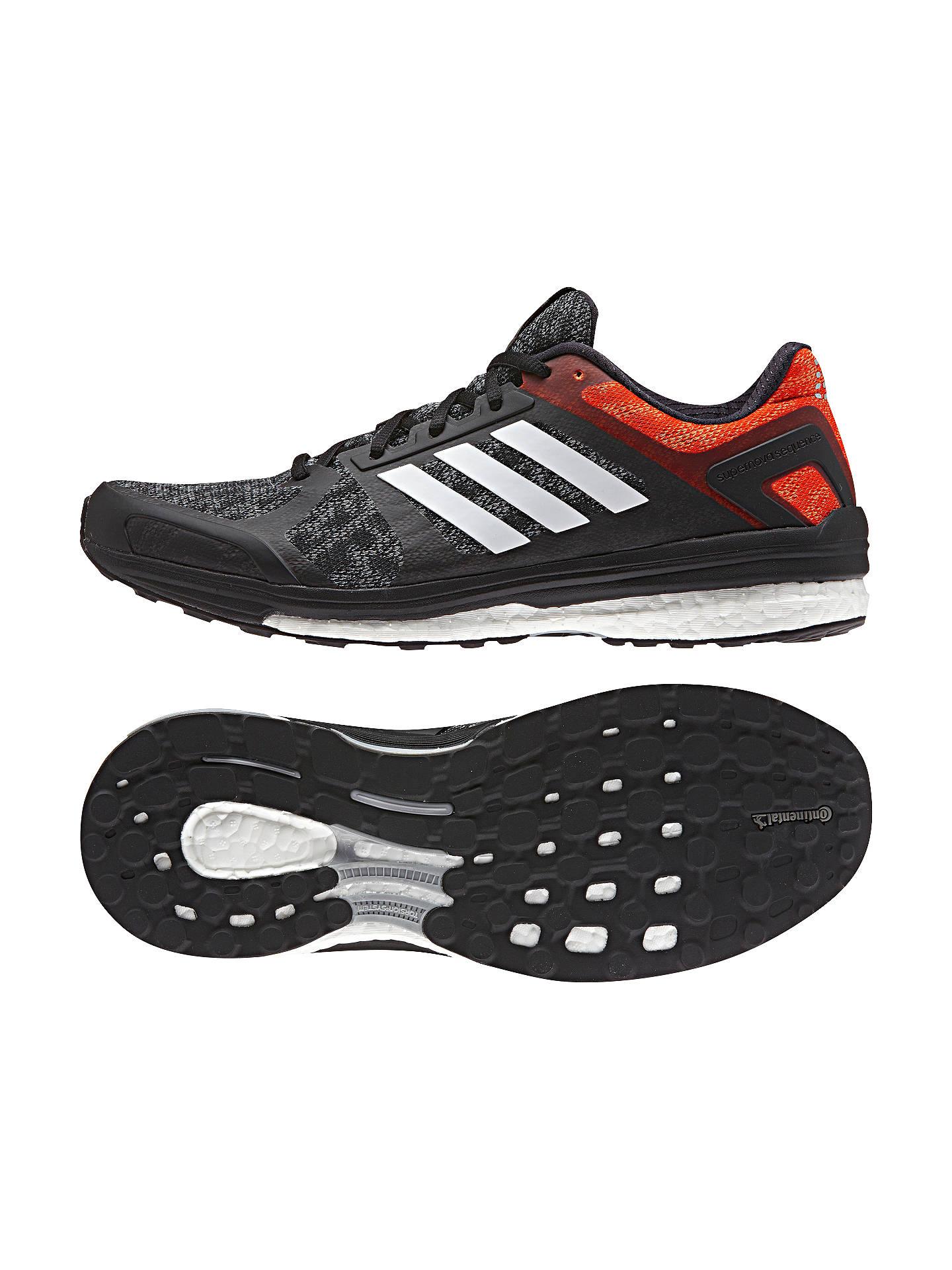 Details about Adidas Supernova Sequence Boost Men's Running Shoe Size 9 12 Black Orange
