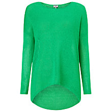 Buy Phase Eight Elen Tape yarn Ellipse Jumper, Jade Online at johnlewis.com
