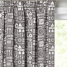Buy little home at John Lewis Robots Pencil Pleat Blackout Lined Curtains Online at johnlewis.com