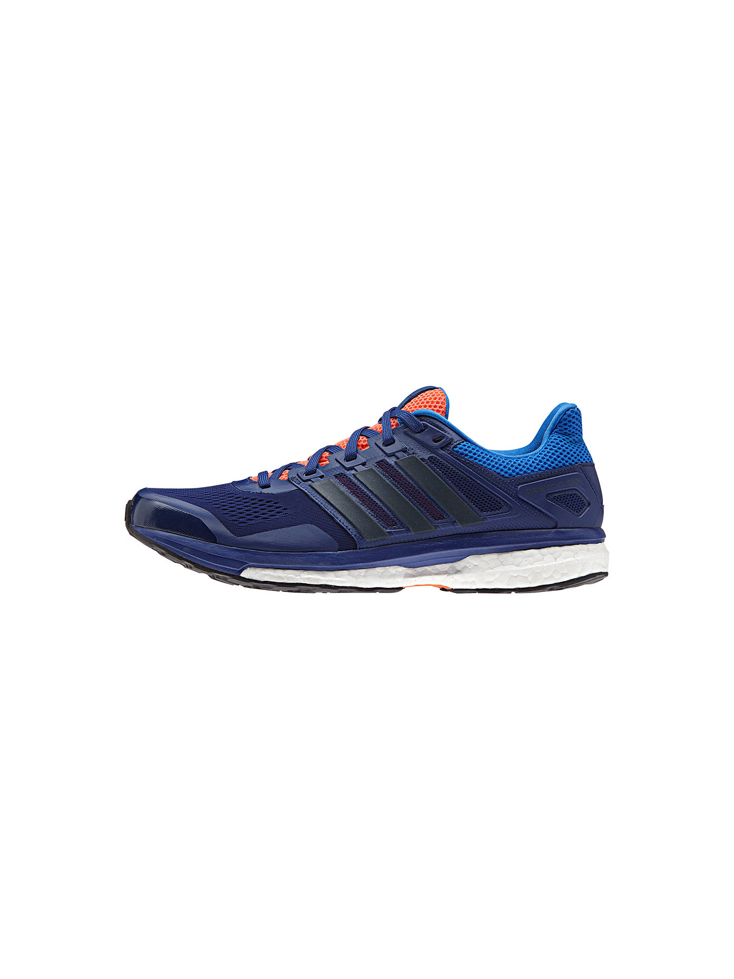low priced b98d9 1607c BuyAdidas Performance Supernova Glide 8 Cushioned Mens Running Shoes,  Blue, 7 Online at johnlewis ...