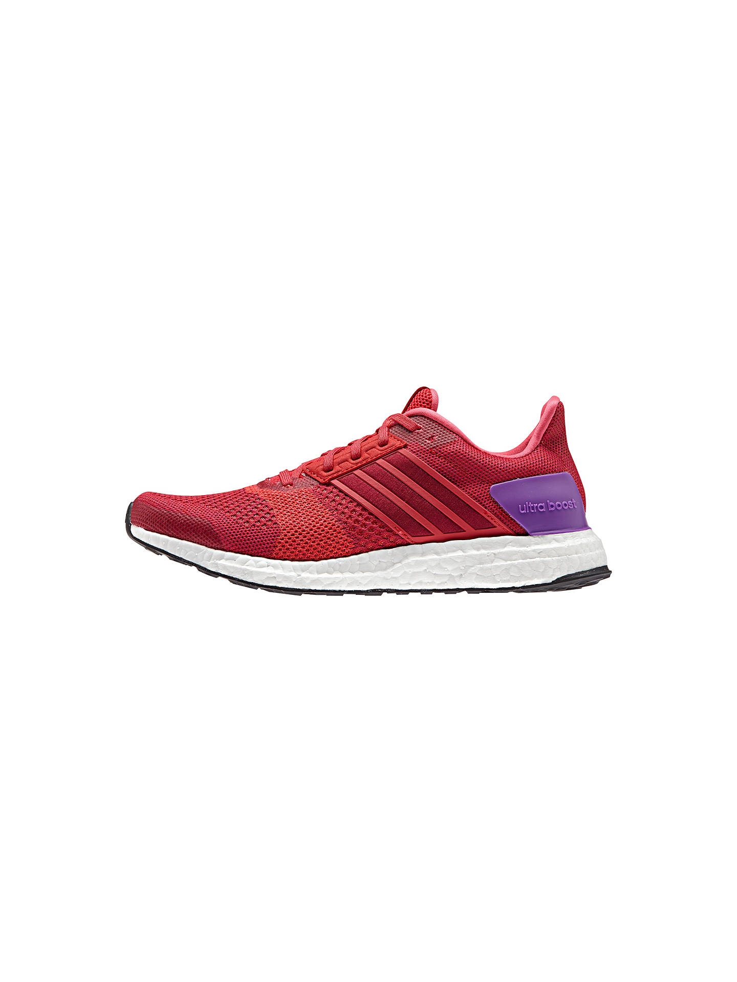 new product 2970e b606b Buyadidas Ultra Boost ST Womens Running Shoes, RedPink, 4 Online at  johnlewis ...