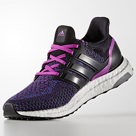 Adidas Ultra Boost Black Purple Mens