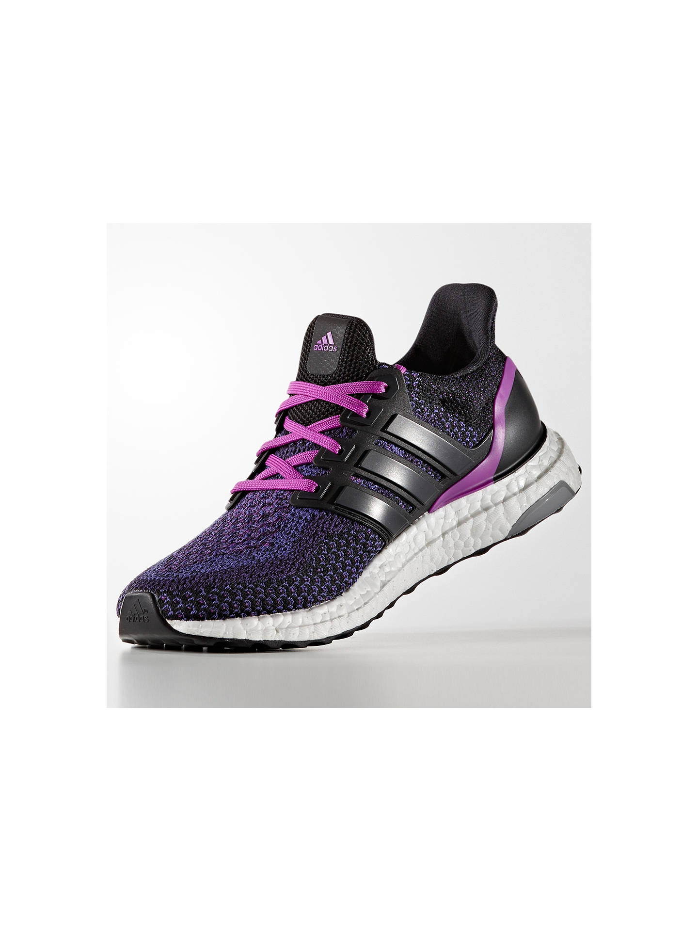 newest 76afc 5ea83 ... discount buyadidas ultra boost womens running shoes black purple 4  online at johnlewis. 34f39 4caa8
