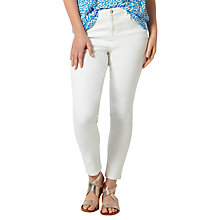 Buy Studio 8 Janice Slim Fit Jeans, White Online at johnlewis.com