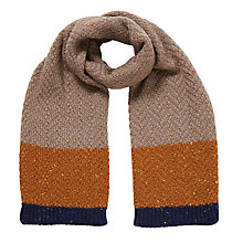 Buy John Lewis Children's Neppy Block Stripe Scarf, Multi Online at johnlewis.com