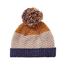 Buy John Lewis Children's Neppy Block Stripe Beanie Hat, Multi Online at johnlewis.com