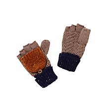 Buy John Lewis Children's Neppy Block Stripe Flip Gloves, Multi Online at johnlewis.com