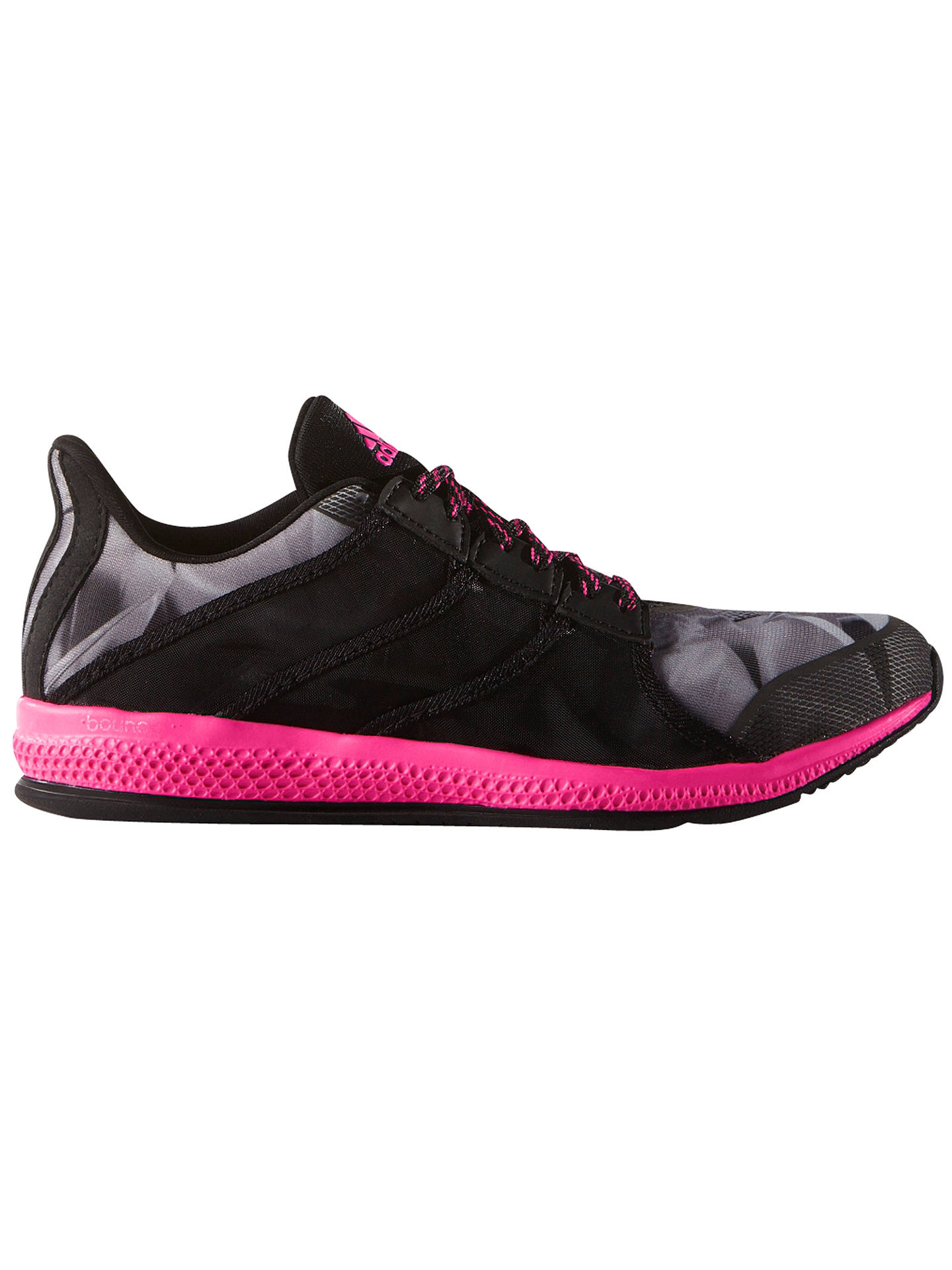 quality design 5232f e0463 BuyAdidas Gymbreaker Bounce Women s Cross Trainers, Black Pink, 6 Online at  johnlewis.
