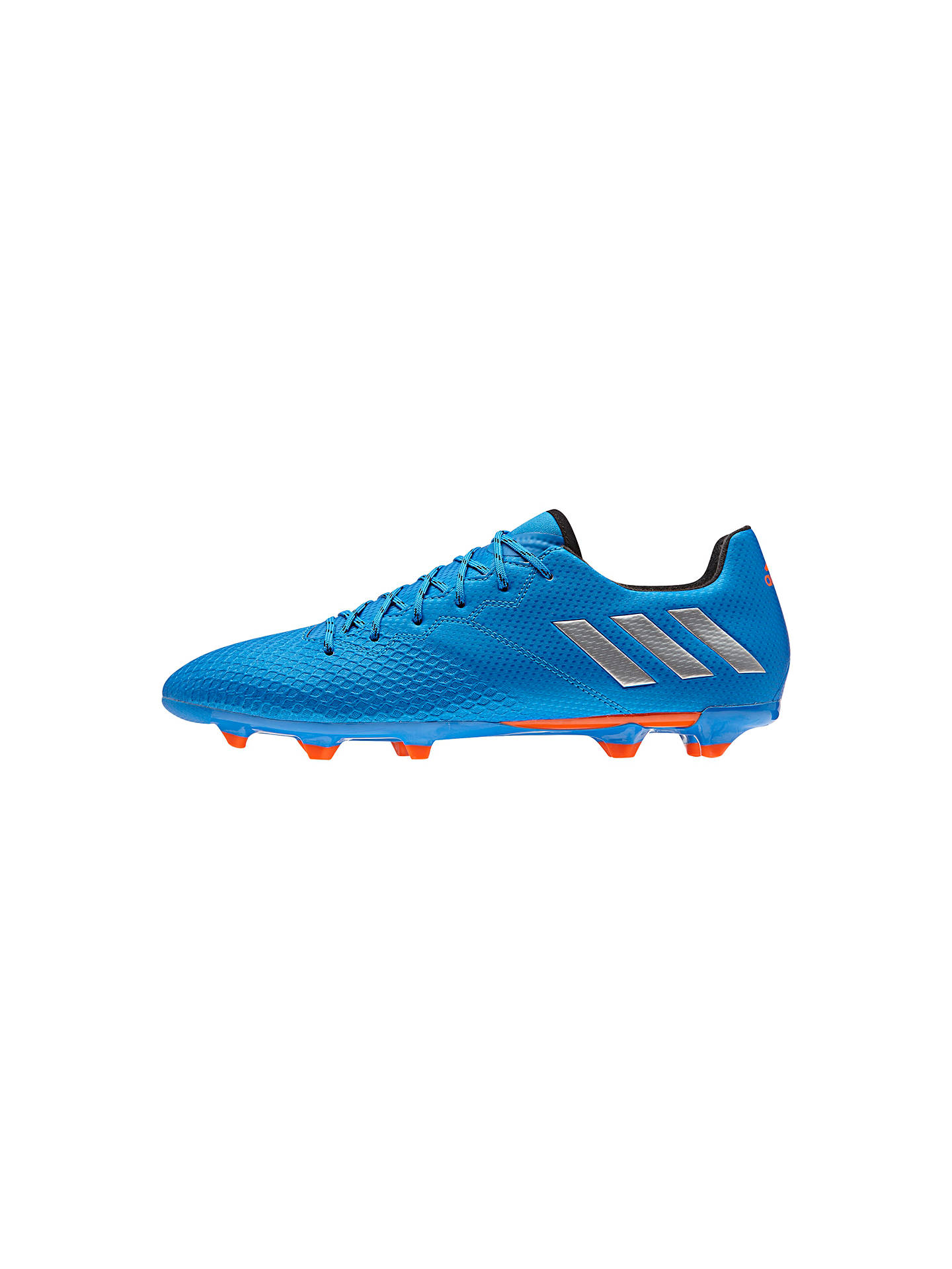 cheaper 275f8 ea5d1 Buy Adidas Messi 16.3 FG Men s Football Boots, Blue Silver, 7 Online at ...