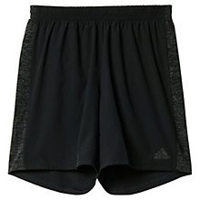 Buy Adidas Supernova Running Shorts, Black Online at johnlewis.com