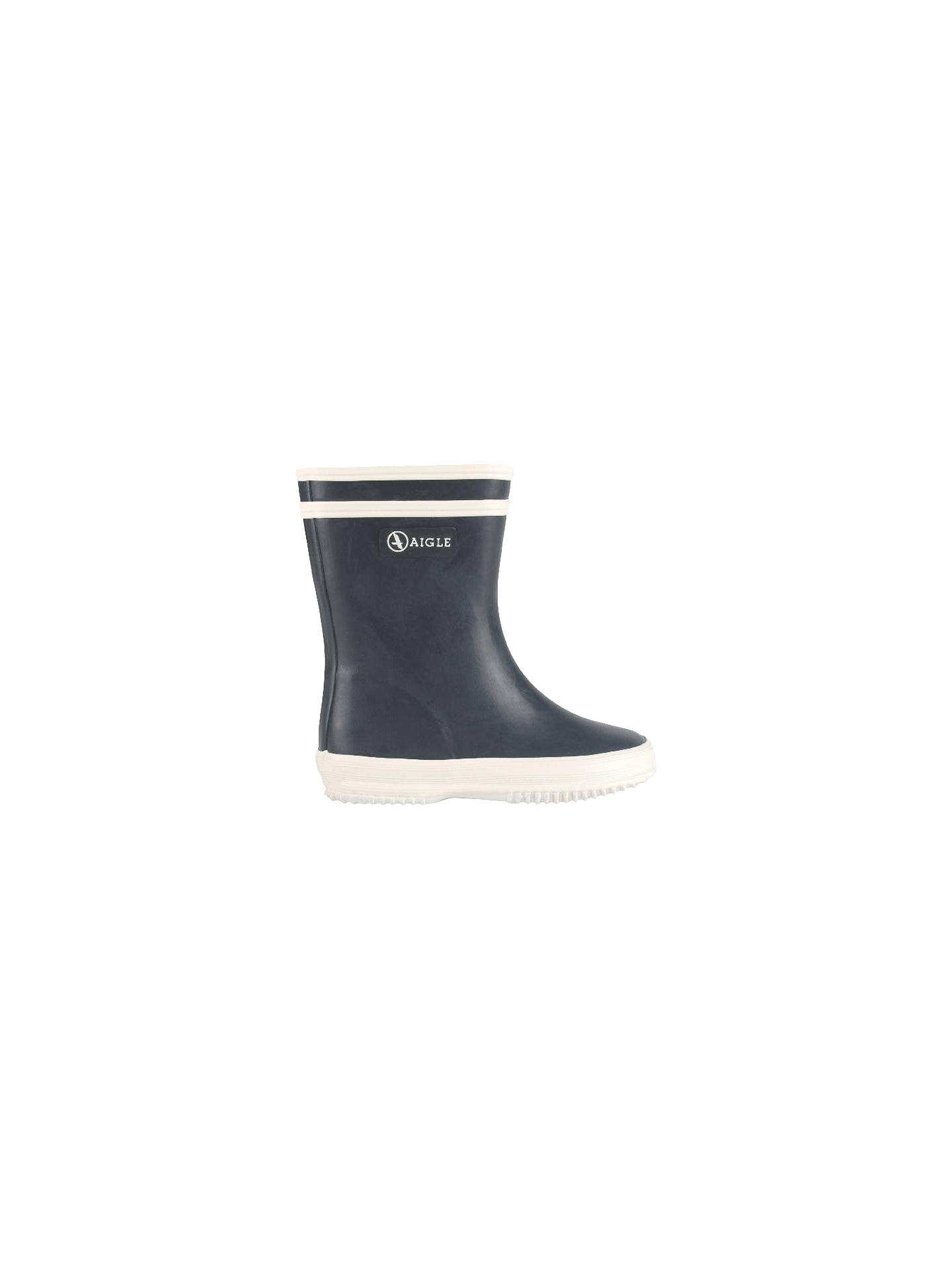 Kinder Aigle Baby Flac Stiefel Silber