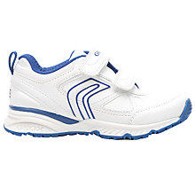 Buy Geox Children's Bernie Rip-Tape Trainers Online at johnlewis.com