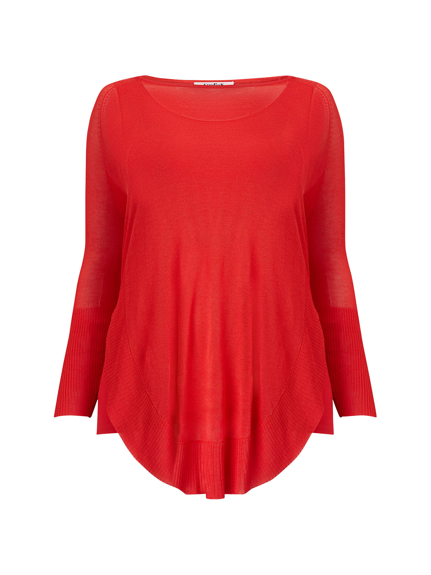 BuyStudio 8 Ciaren Jumper, Orange, 12 Online at johnlewis.com