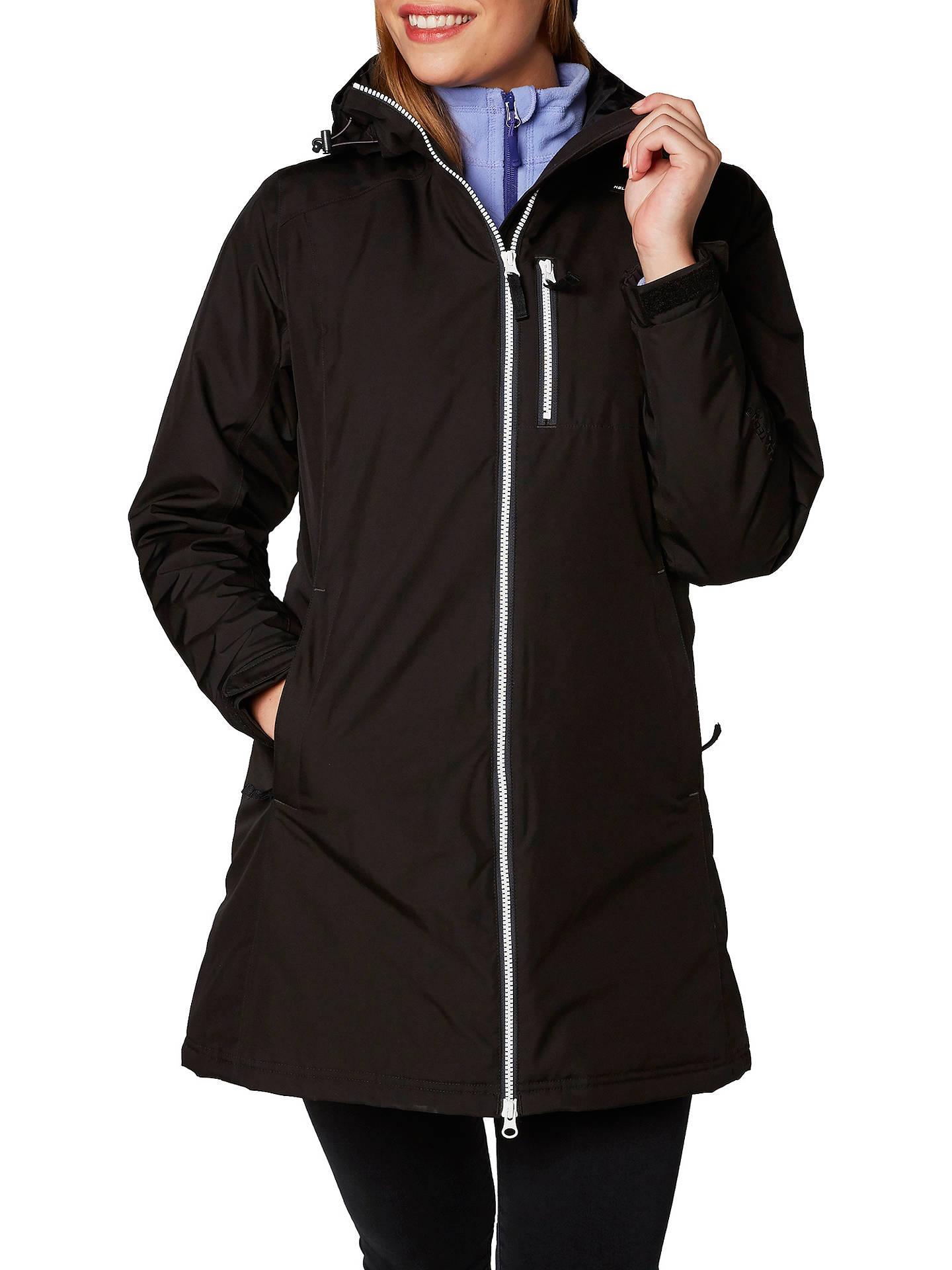 c6c7efd2c Helly Hansen Long Belfast Waterproof Insulated Women's Jacket at ...
