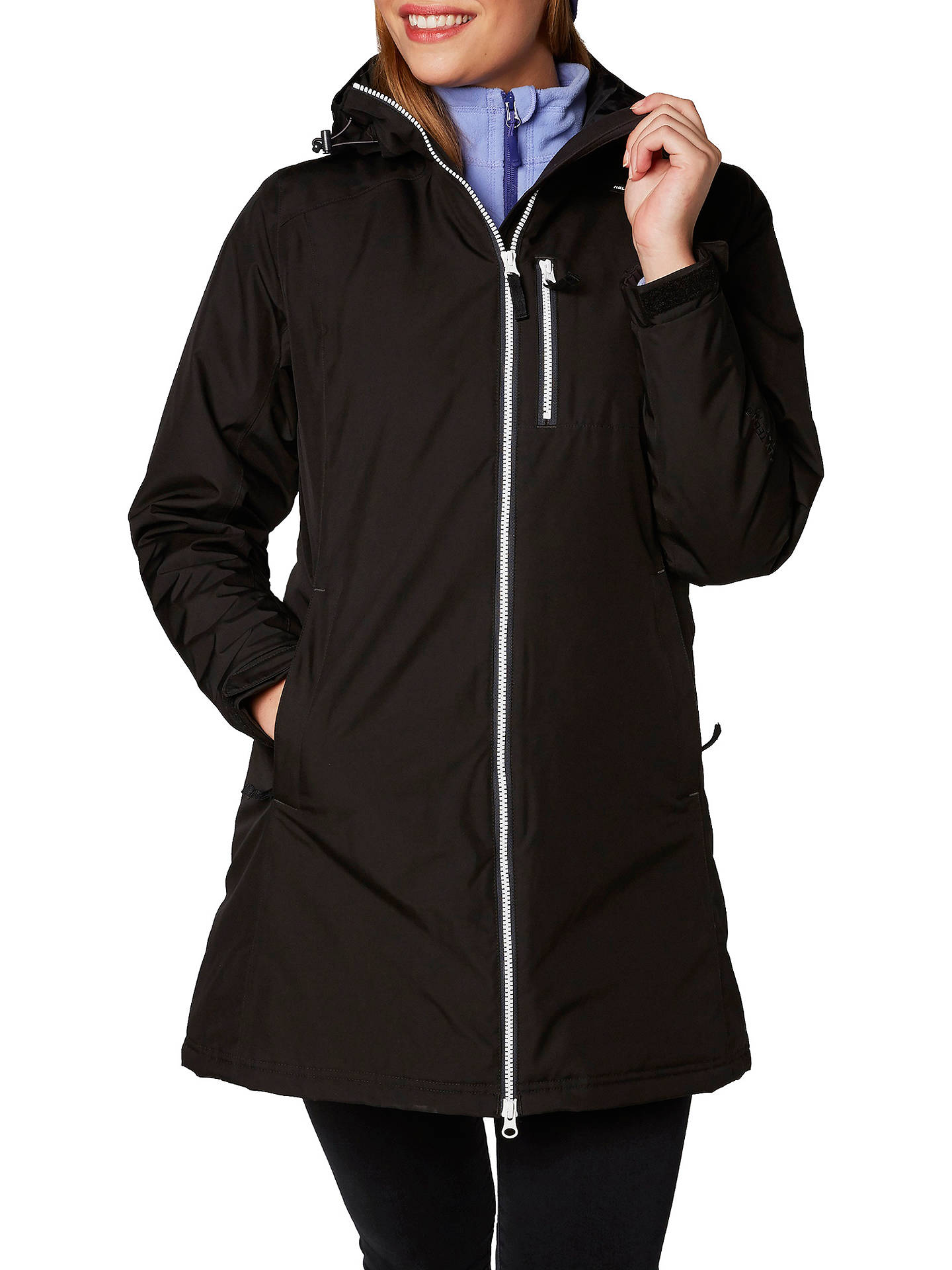 333673e2980 Helly Hansen Long Belfast Waterproof Insulated Women s Jacket at ...
