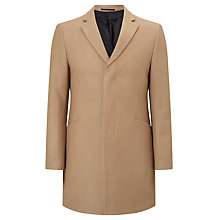 Buy Kin by John Lewis Melton Slim Epsom Coat, Camel Online at johnlewis.com