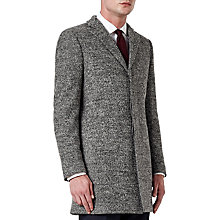 Buy Kin by John Lewis Melange Slim Epsom Coat, Grey Online at johnlewis.com