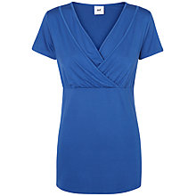 Buy Mamalicious Anette Tess Jersey Maternity Nursing Top, Blue Online at johnlewis.com