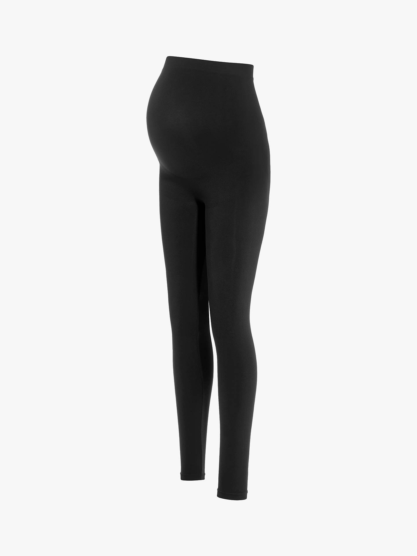 f907424419a744 Buy Séraphine Holi Maternity Leggings, Black, S Online at johnlewis.com ...
