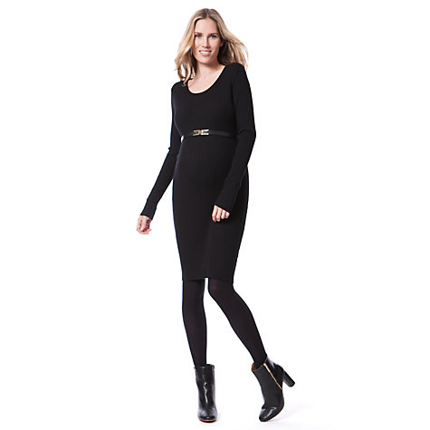 Buy Séraphine Addison Maternity Dress, Black Online at johnlewis.com